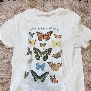butterfly graphic tee from urban outfitters